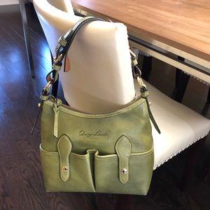 Dooney & Bourke Florentine Vachetta LUCY Green Bag